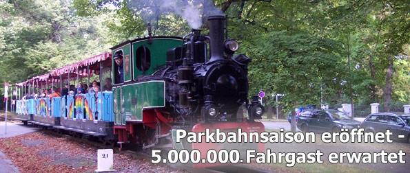 Parkbahn Chemnitz Fahrsaison 2011