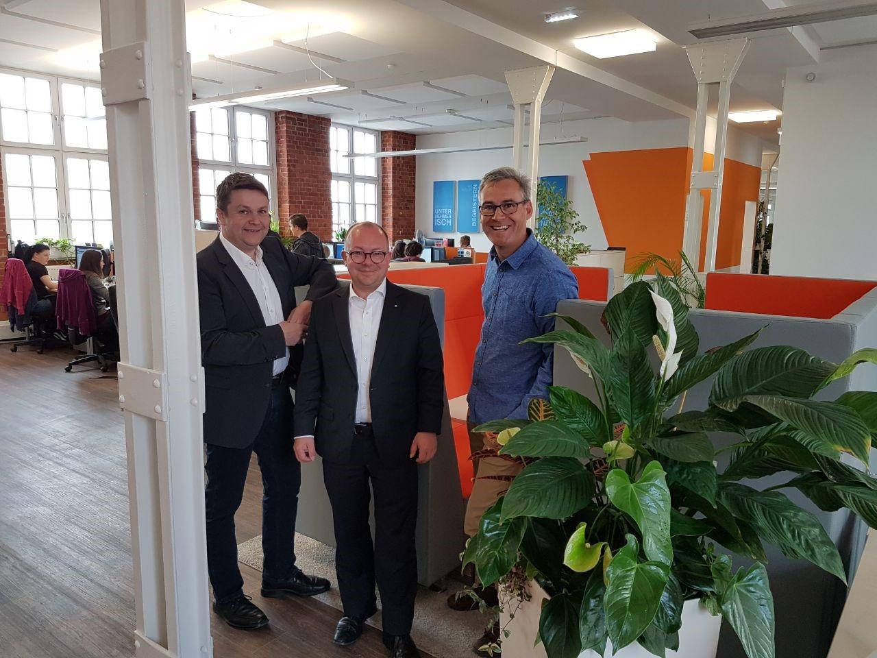 Frank Müller-Rosentritt, MdB: Chemnitz muss Hotspot für Macher und Start-Ups in Europa werden!