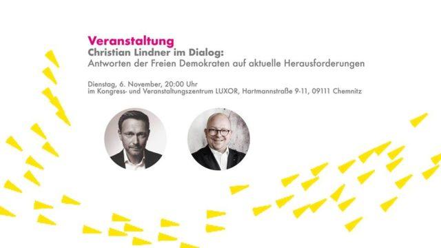 Christian Lindner im Dialog: Chemnitz