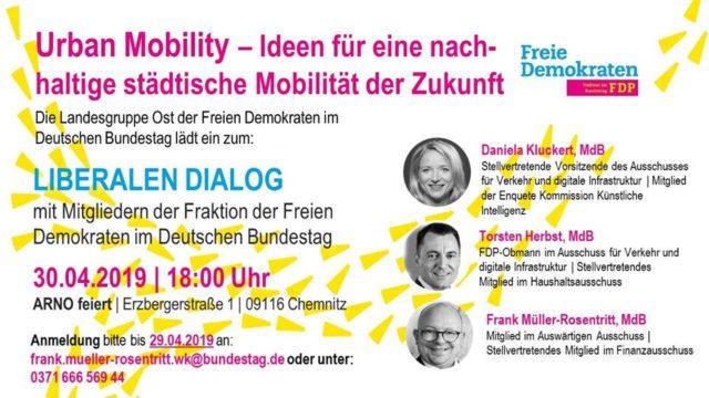 Liberaler Dialog: Urban Mobility