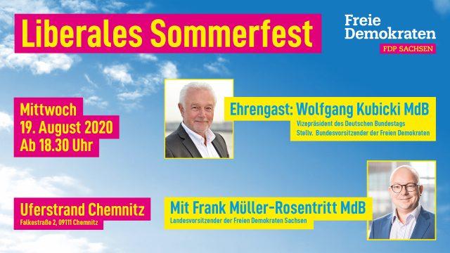 Liberales Sommerfest in Chemnitz